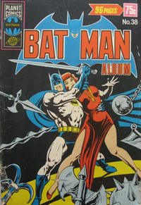 Cover Thumbnail for Batman Album (K. G. Murray, 1976 series) #38