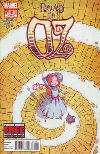 Cover Thumbnail for Road to Oz (Marvel, 2012 series) #1