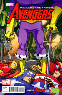 Cover Thumbnail for Avengers: Earth's Mightiest Heroes (Marvel, 2011 series) #4