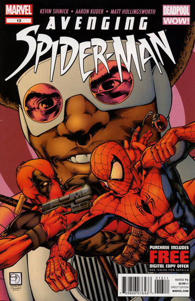 Cover for Avenging Spider-Man (Marvel, 2012 series) #13