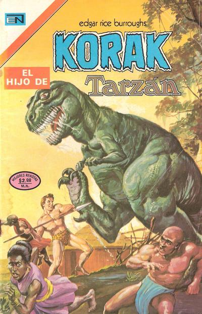 Cover for Korak (Editorial Novaro, 1972 series) #22