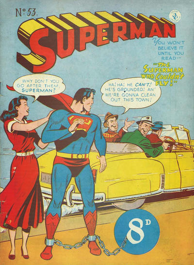 Cover for Superman (K. G. Murray, 1947 series) #53