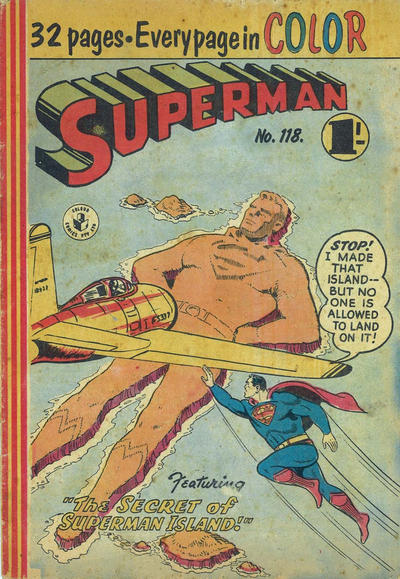 Cover for Superman (K. G. Murray, 1947 series) #118