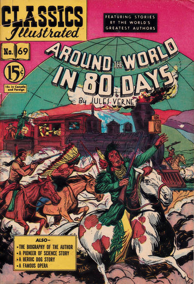 Cover for Classics Illustrated (Gilberton, 1948 series) #69