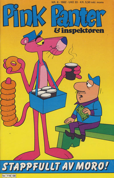 Cover for Pink Panter (Semic, 1977 series) #8/1982