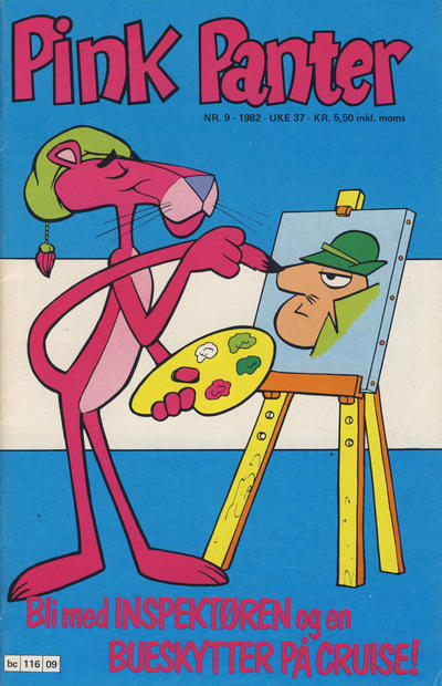 Cover for Pink Panter (Semic, 1977 series) #9/1982