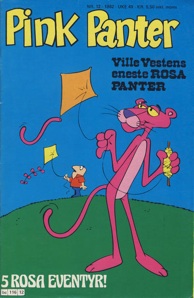 Cover for Pink Panter (Semic, 1977 series) #12/1982