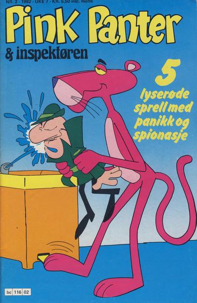 Cover for Pink Panter (Semic, 1977 series) #2/1982