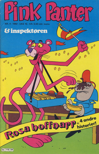 Cover for Pink Panter (Semic, 1977 series) #4/1982
