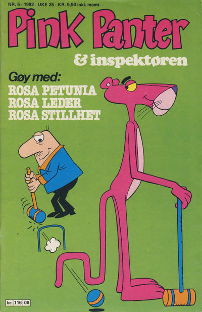 Cover for Pink Panter (Semic, 1977 series) #6/1982