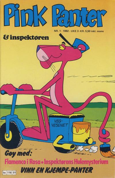 Cover for Pink Panter (Semic, 1977 series) #1/1982
