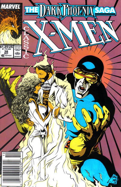 Cover for Classic X-Men (Marvel, 1986 series) #38 [Newsstand Edition]