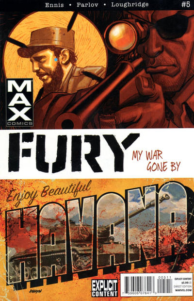 Cover for Fury Max (Marvel, 2012 series) #5