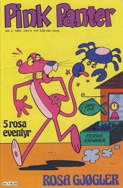 Cover for Pink Panter (Semic, 1977 series) #2/1983