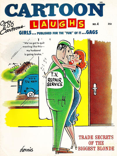 Cover for Cartoon Laughs (Marvel, 1963 series) #4