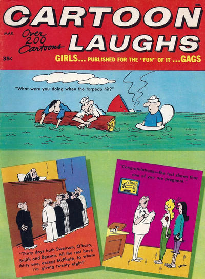Cover for Cartoon Laughs (Marvel, 1963 series) #v7#2