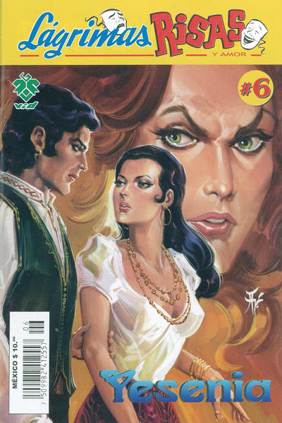 Cover for Lágrimas Risas y Amor. Yesenia (Grupo Editorial Vid, 2012 series) #6