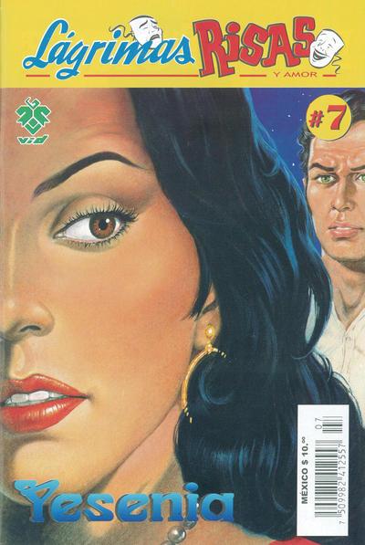 Cover for Lágrimas Risas y Amor. Yesenia (Grupo Editorial Vid, 2012 series) #7