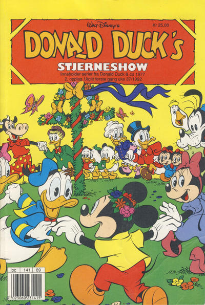 Cover for Donald Duck's Show (Hjemmet, 1957 series) #stjerneshow 1992