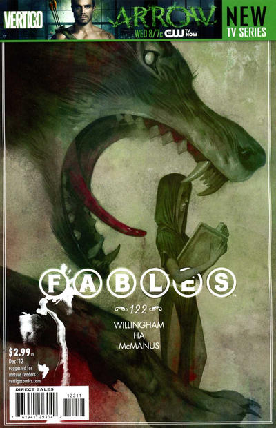 Cover for Fables (DC, 2002 series) #122