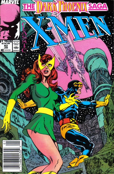 Cover for Classic X-Men (Marvel, 1986 series) #43 [Direct Edition]