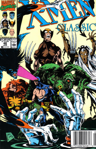 Cover for X-Men Classic (Marvel, 1990 series) #48 [Direct]