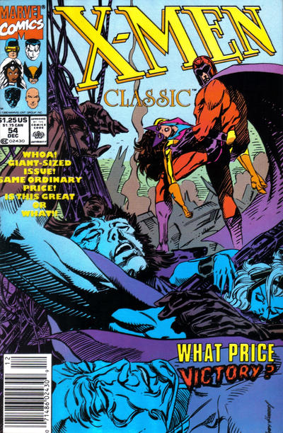 Cover for X-Men Classic (Marvel, 1990 series) #54 [Newsstand]