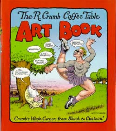 Cover for The R. Crumb Coffee Table Art Book (Little, Brown, 1997 series)