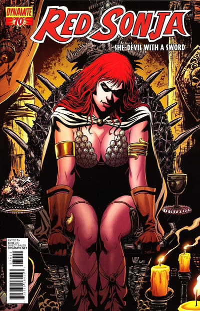 Cover for Red Sonja (Dynamite Entertainment, 2005 series) #70