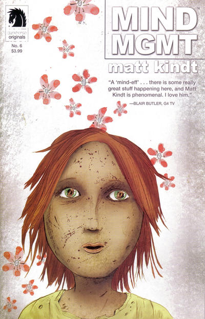 Cover for Mind Mgmt (Dark Horse, 2012 series) #6