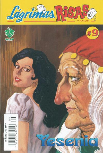 Cover for Lágrimas Risas y Amor. Yesenia (Grupo Editorial Vid, 2012 series) #9