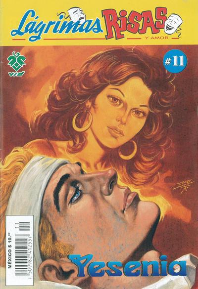 Cover for Lágrimas Risas y Amor. Yesenia (Grupo Editorial Vid, 2012 series) #11