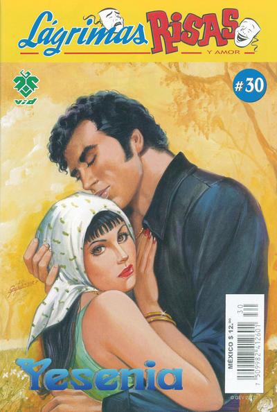 Cover for Lágrimas Risas y Amor. Yesenia (Grupo Editorial Vid, 2012 series) #30
