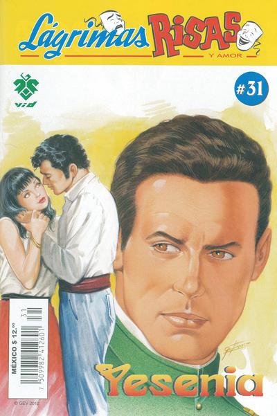 Cover for Lágrimas Risas y Amor. Yesenia (Grupo Editorial Vid, 2012 series) #31