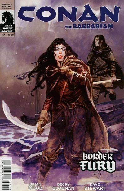 Cover for Conan the Barbarian (Dark Horse, 2012 series) #7 [94]