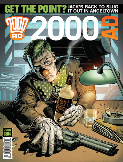 Cover for 2000 AD (Rebellion, 2001 series) #1804