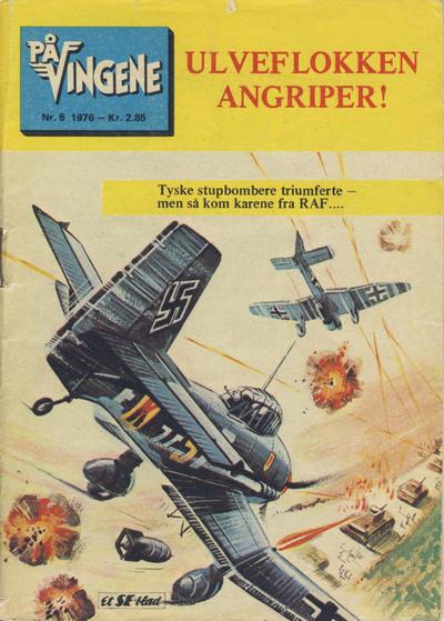 Cover for På Vingene (Serieforlaget / Se-Bladene / Stabenfeldt, 1963 series) #5/1976