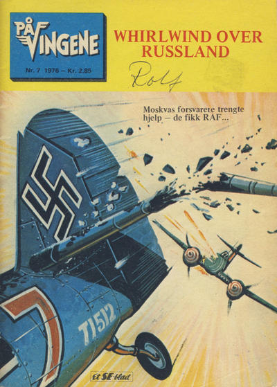 Cover for På Vingene (Serieforlaget / Se-Bladene / Stabenfeldt, 1963 series) #7/1976