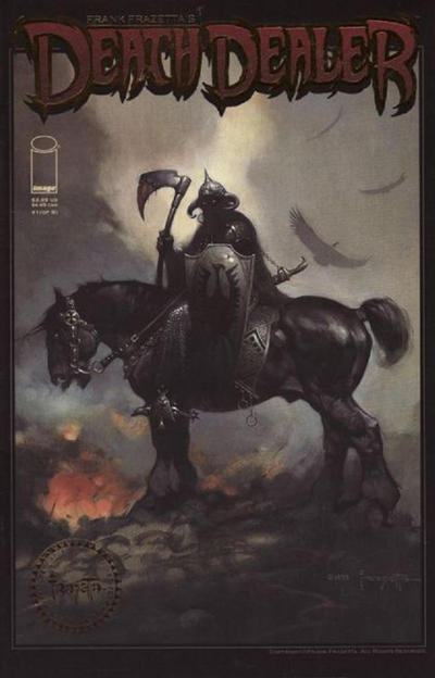 Cover for Frank Frazetta's Death Dealer (Image, 2007 series) #1 [Cover A]