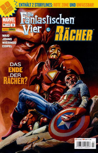 Cover for Die Fantastischen Vier & Die Rächer (Panini Deutschland, 2004 series) #3