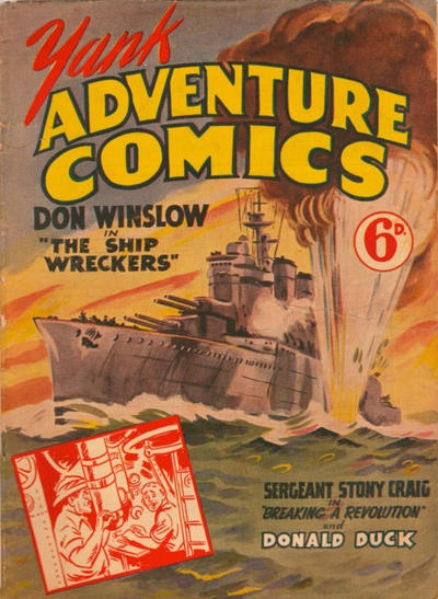Cover for Yank Adventure Comics (Ayers & James, 1940 ? series) #[nn]