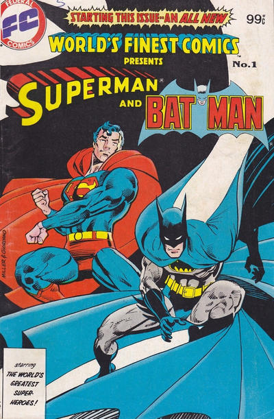Cover for World's Finest Comics (Federal, 1984 series) #1