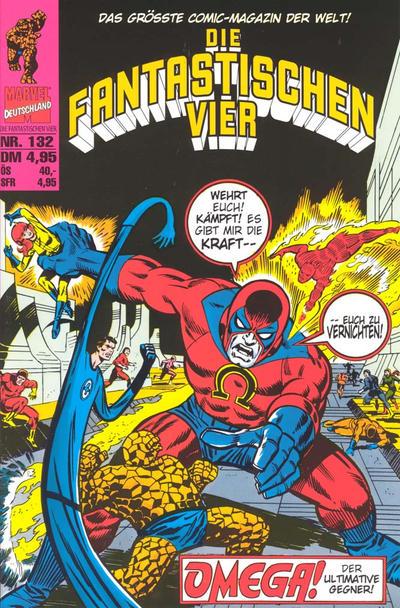 Cover for Die Fantastischen Vier (Panini Deutschland, 1999 series) #132