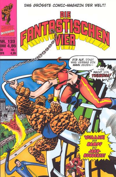 Cover for Die Fantastischen Vier (Panini Deutschland, 1999 series) #133