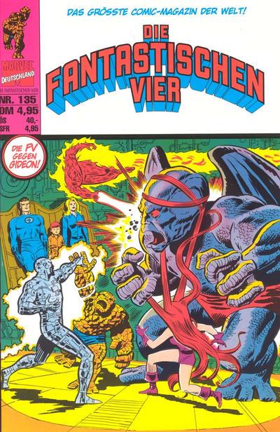 Cover for Die Fantastischen Vier (Panini Deutschland, 1999 series) #135