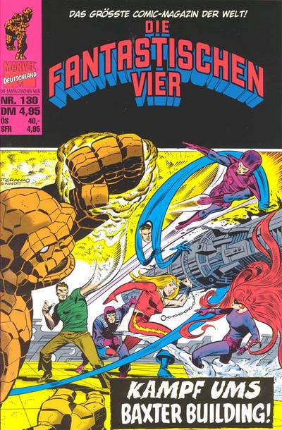 Cover for Die Fantastischen Vier (Panini Deutschland, 1999 series) #130