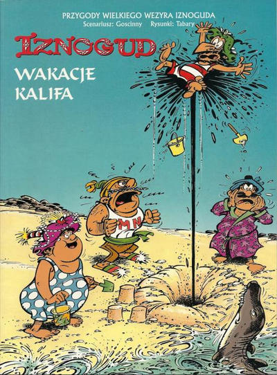 Cover for Iznogud (Egmont Polska, 2000 series) #6 - Wakacje Kalifa