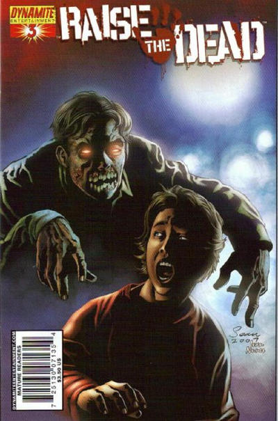 Cover for Raise the Dead (Dynamite Entertainment, 2007 series) #3 [Sean Phillips cover]