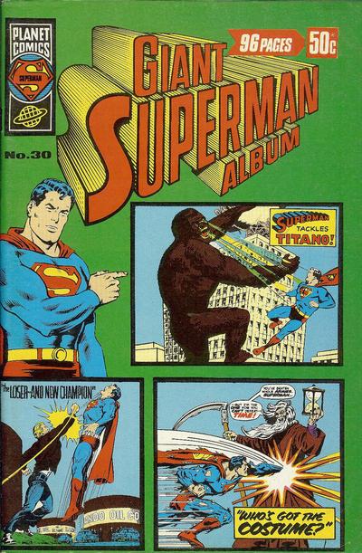 Cover for Giant Superman Album (K. G. Murray, 1963 ? series) #30