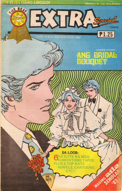 Cover for Extra Special Komiks (Atlas Publishing Company, 1982 ? series) #496